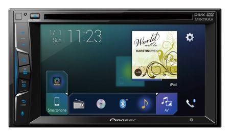 Nueva Serie Z de auto estéreos multimedia de Pioneer