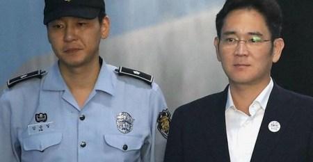 Heredero de Samsung es condenado a cárcel por soborno