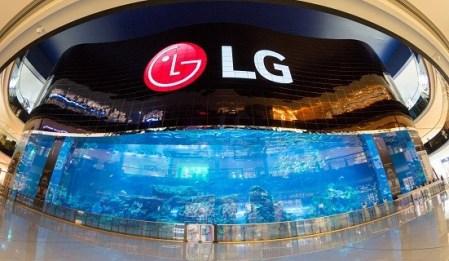 La pantalla OLED de alta definición más grande del mundo es creada por LG en Dubái