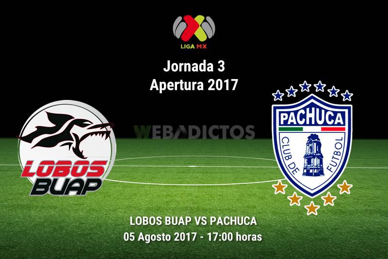 Lobos BUAP vs Pachuca, Jornada 3 Apertura 2017 | Resultado: 3-2 - lobos-buap-vs-pachuca-j3-apertura-2017