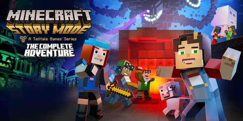 minecraft story mode the complete adventure nintendo switch Minecraft Story Mode para Nintendo Switch llega en Agosto