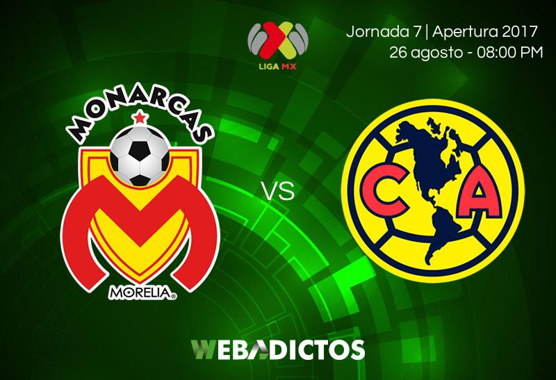 Morelia vs América, J7 Liga MX Apertura 2017   Resultado: 2-0 - morelia-vs-america-j7-apertura-2017
