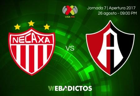 Necaxa vs Atlas, Jornada 7 Apertura 2017 | Resultado: 2-1