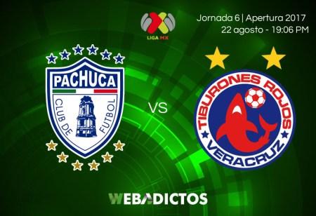 Pachuca vs Veracruz, Jornada 6 Liga MX A2017 | En vivo