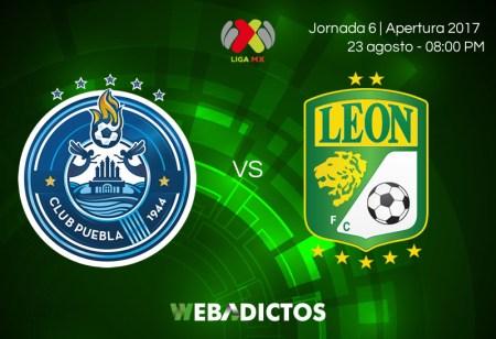 Puebla vs León, Jornada 6 del Apertura 2017 | En vivo