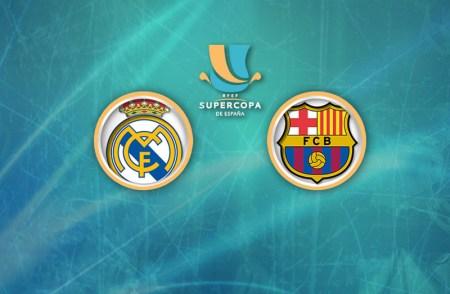 Real Madrid vs Barcelona, Supercopa de España 2017 | Resultado: 2-0