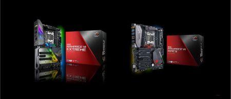 ASUS ROG lanza las tarjetas madre ROG Rampage VI Extreme y Rampage VI Apex