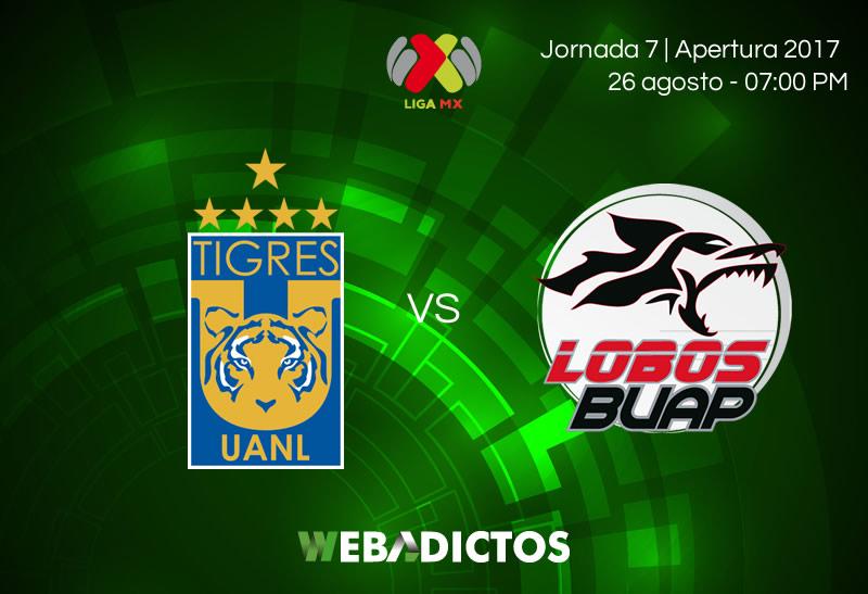 Tigres vs Lobs BUAP, Jornada 7 del Apertura 2017 | Resultado: 3-2 - tigres-vs-lobos-buap-j7-apertura-2017