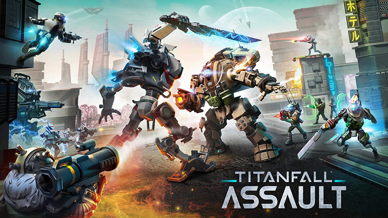 Titanfall: Assault para celulares ya disponible - titanfall-assault