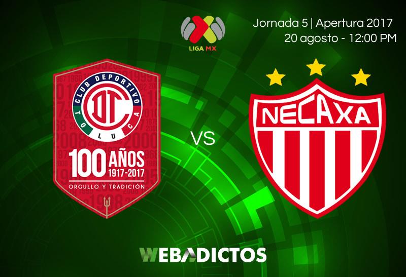 Toluca vs Necaxa, Jornada 5 de Liga MX A2017   Resultado: 0-0 - toluca-vs-necaxa-jornada-5-apertura-2017