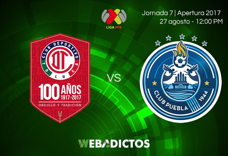 Toluca vs Puebla, Jornada 7 de la Liga MX A2017 | Resultado: 2-1 - toluca-vs-puebla-j7-apertura-2017
