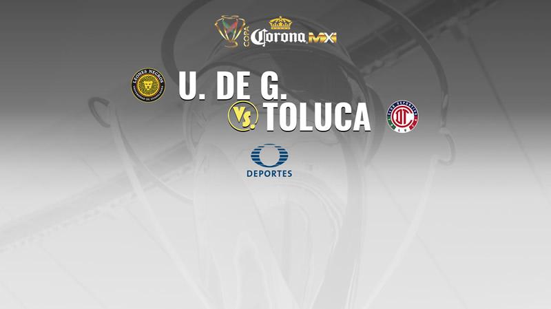 Leones Negros UDG vs Toluca, Copa MX A2017 | Resultado: 0-2 - udg-vs-toluca-copa-mx-apertura-2017