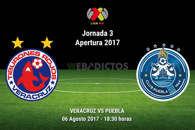 Veracruz vs Puebla, Jornada 3 del Apertura 2017 | Resultado: 2-0 - veracruz-vs-puebla-j3-apertura-2017