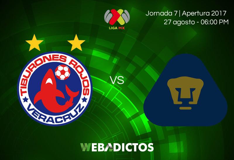 Veracruz vs Pumas, Jornada 7 del Apertura 2017 | Resultado: 1-0 - veracruz-vs-pumas-j7-apertura-2017