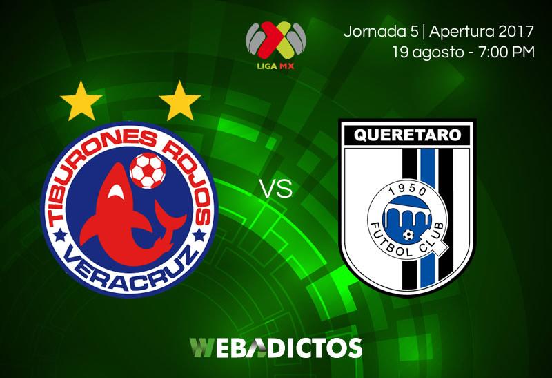 Veracruz vs Querétaro, J5 del Apertura 2017 | Resultado: 1-1 - veracruz-vs-queretaro-jornada-5-apertura-2017