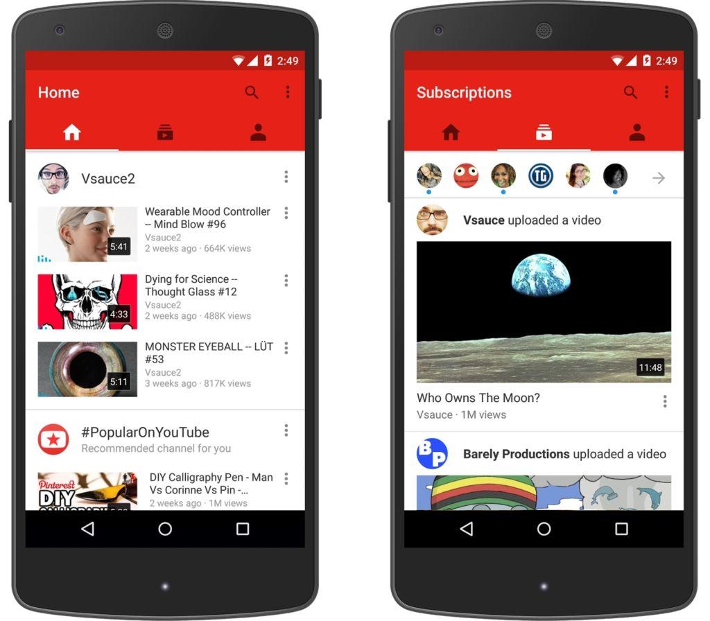YouTube prueba en Android una herramienta útil para 'youtubers'