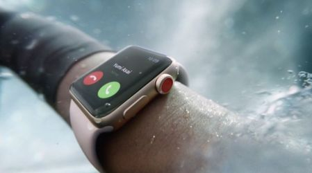 Apple anuncia la tercera generación del Apple Watch con LTE
