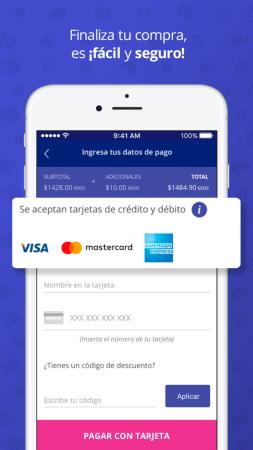 Reservamos.mx presenta su nueva app móvil - 5_pago