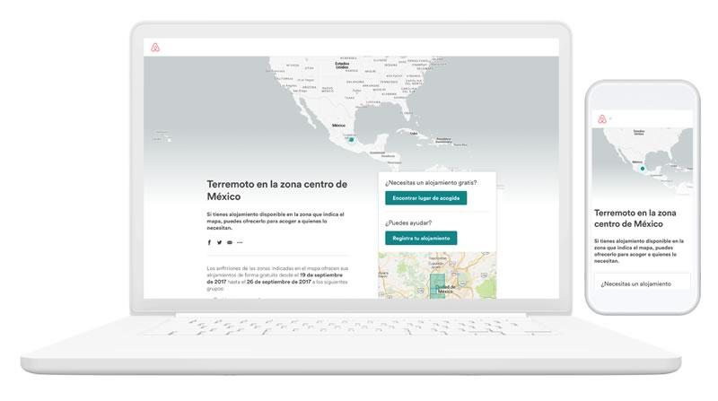airbnb alojamiento sismo mexico Airbnb extiende programa de respuesta a desastres hasta Octubre y amplía operación a Puebla y Morelos