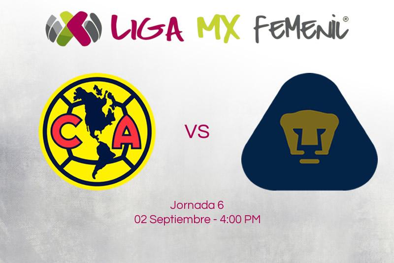 América vs Pumas, J6 Liga MX Femenil ¡En vivo por internet! - america-vs-pumas-femenil-liga-mx-a2017