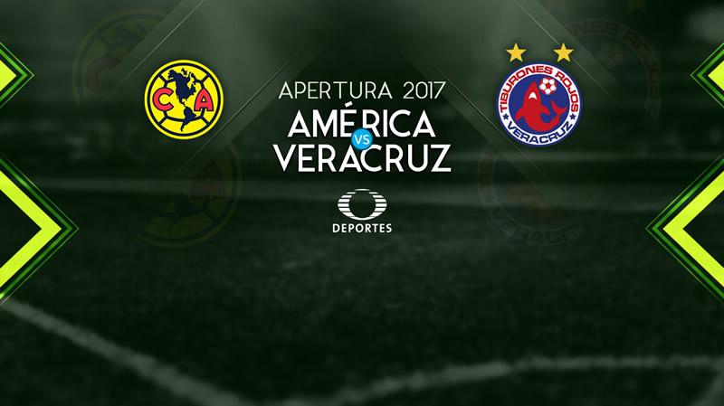 América vs Veracruz, Jornada 8 Liga MX A2017 | Resultado: 2-0 - america-vs-veracruz-televisa-deportes-apertura-2017