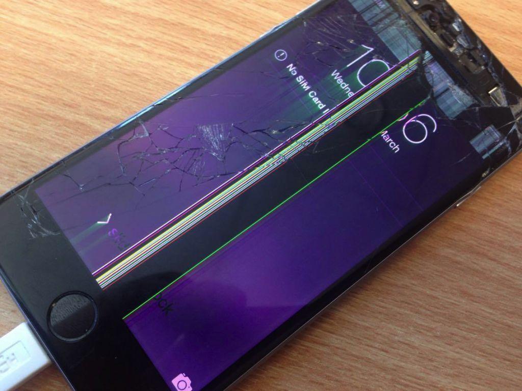 Así decide Apple la aplicación de la garantía en iPhone y otros de sus productos - apple-iphone6-broken-screen