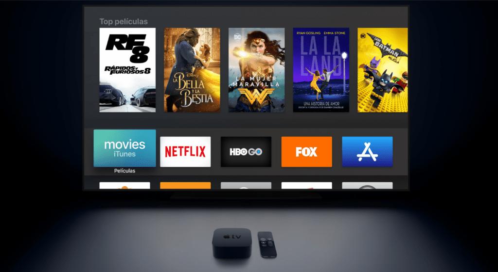 El nuevo Apple TV soportará streaming en 4K