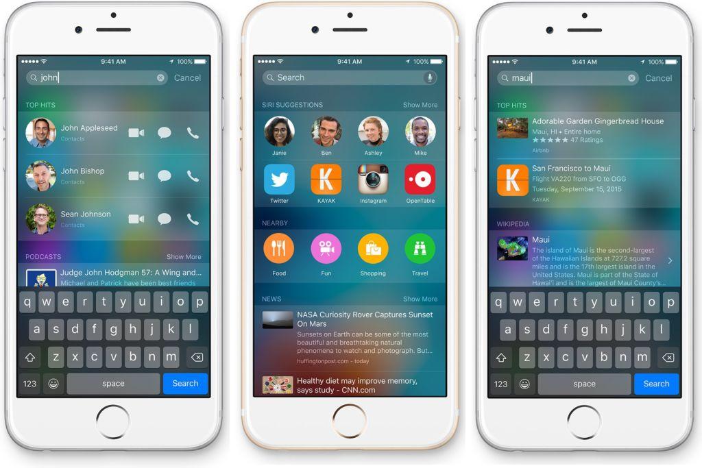 Apple cambia a Bing por Google como proveedor de servicio de búsqueda web - apple-web-search-google
