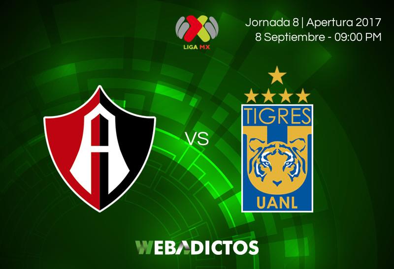 Atlas vs Tigres, J8 de la Liga MX Apertura 2017 | Suspendido - atlas-vs-tigres-j8-apertura-2017