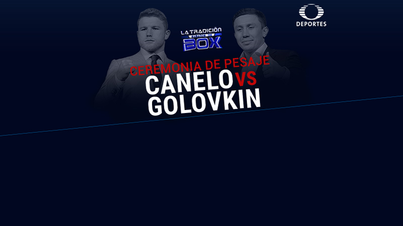 Pesaje de Canelo vs Golovkin, este 15 de septiembre ¡En vivo por internet! - ceremonia-pesaje-canelo-vs-golovkin