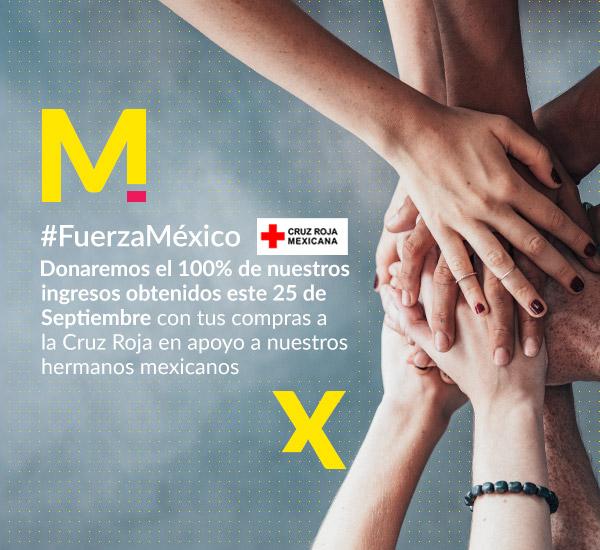 curz roja mercado libre Mercado Libre donará 100% de ganancias