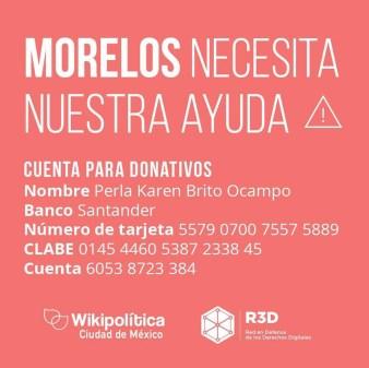 Cómo ayudar a México por el sismo, desde cualquier parte del mundo - donar-a-morelos