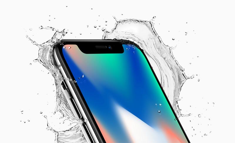 Apple presenta el iPhone 8 / 8 Plus y el iPhone X ¡Conócelos! - iphone-x-contra-agua