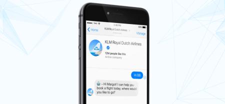 KLM anuncia servicio de asistencia de voz en Messenger disponible ya en México