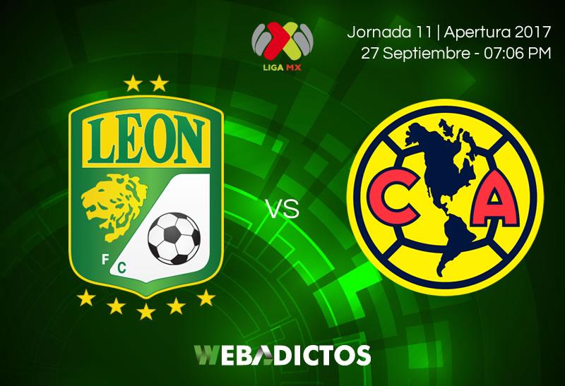León vs América, Jornada 11 de Liga MX A2017 | Resultado: 2-1 - leon-vs-america-j11-apertura-2017