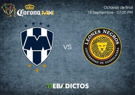 Monterrey vs Leones Negros UDG, Copa MX A2017 | Suspendido