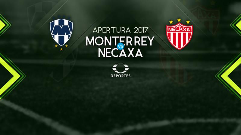 Monterrey vs Necaxa, Jornada 8 Apertura 2017   Resultado: 1-0 - monterrey-vs-necaxa-apertura-2017-televisa-deportes