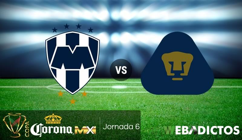 Monterrey vs Pumas, J6 Copa MX Apertura 2017 | Resultado: 3-1 - monterrey-vs-pumas-copa-mx-apertura-2017