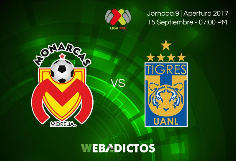 Morelia vs Tigres, Jornada 9 Liga MX A2017   Resultado: 3-3 - morelia-vs-tigres-j9-apertura-2017