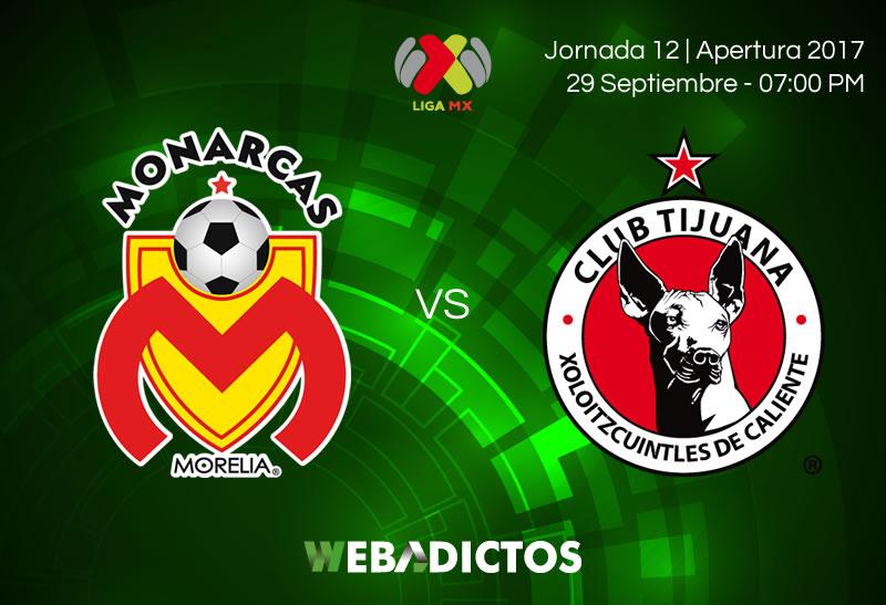 Morelia vs Tijuana, Jornada 12 del Apertura 2017 | Resultado: 3-0 - morelia-vs-tijuana-j12-apertura-2017
