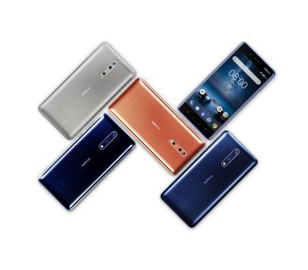 Nokia 8 llega a México : características y precio