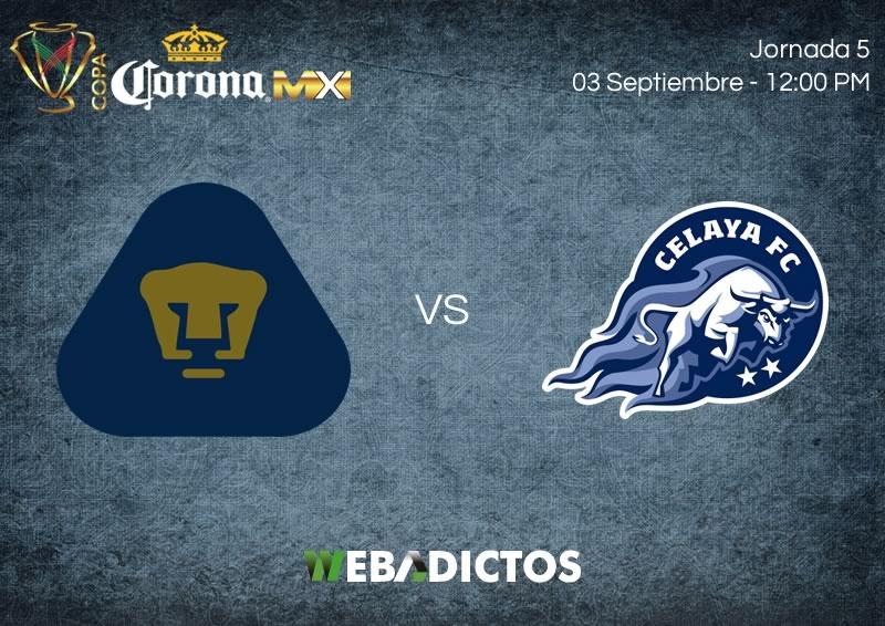 Pumas vs Celaya, Copa MX Apertura 2017 | Resultado: 1-0 - pumas-vs-celaya-pendiente-j5-copa-mx-apertura-2017
