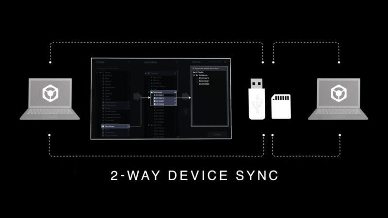 Pioneer DJ lanza rekordbox 5.0 con funciones y características mejoradas - rekordbox_2way-sync_0904-800x450