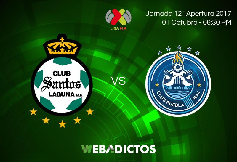 santos vs puebla j12 apertura 2017 800x547 Santos vs Puebla, Jornada 12 Apertura 2017 | Resultado: 0 0