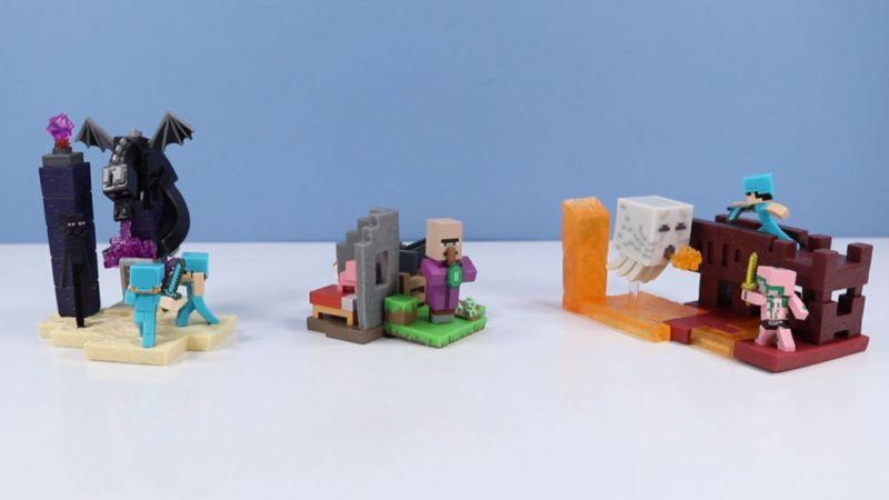 Llegaron los divertidos Craftables de Minecraft, Series 2 - segunda-serie-de-los-populares-coleccionables-minecraft-craftables-800x450