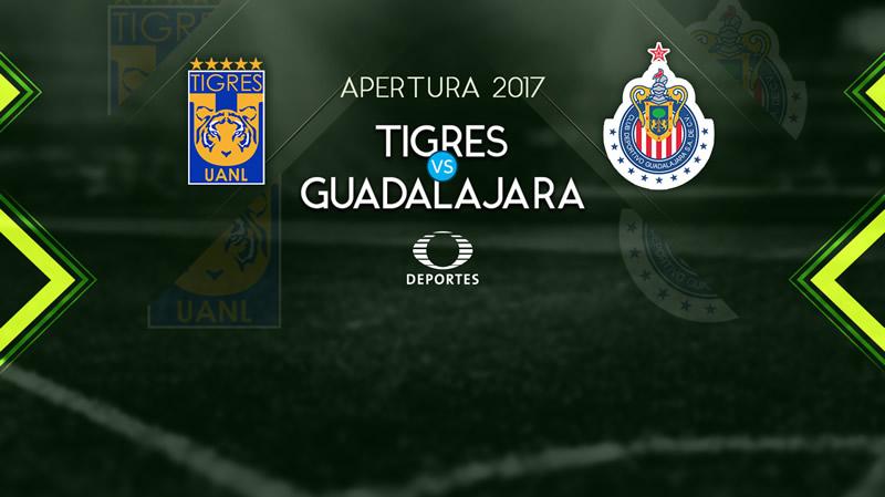 tigres vs chivas en vivo televisa deportes apertura 2017 800x449 Tigres vs Chivas, Jornada 12 Liga MX A2017 | Resultado: 1 0
