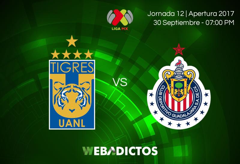 tigres vs chivas j12 apertura 2017 800x547 Tigres vs Chivas, Jornada 12 Liga MX A2017 | Resultado: 1 0
