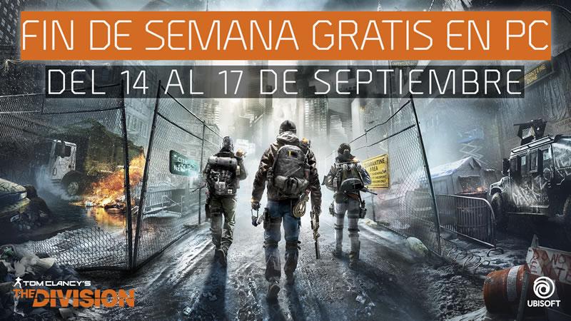tom clancys the division gratis Tom Clancys The Division será gratis del 14 al 17 de septiembre