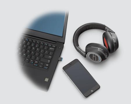 Nuevos audífonos con Bluetooth: Voyager 8200 UC de Plantronics - voyager-8200-uc-plantronics-450x356