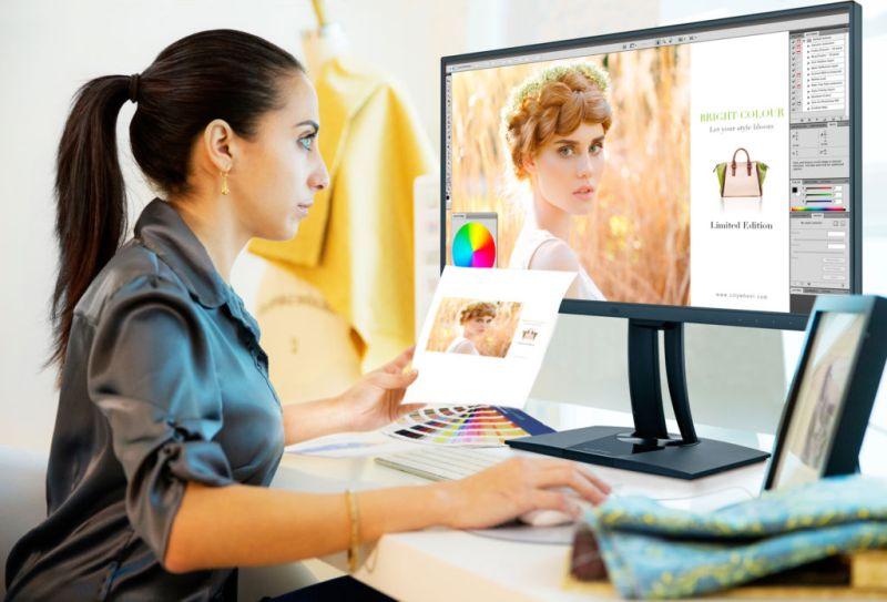 ViewSonic presenta monitor 4K para fotógrafos con certificación Fogra - vp2785-4k_viewsonic-pantalla-800x543